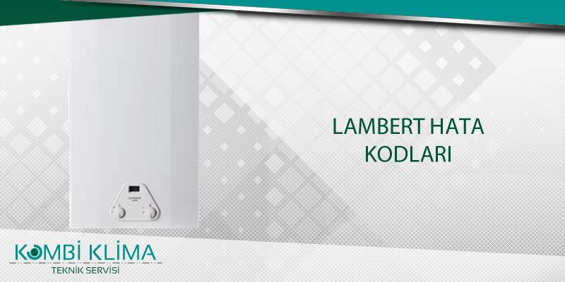 Lambert Hata Kodları